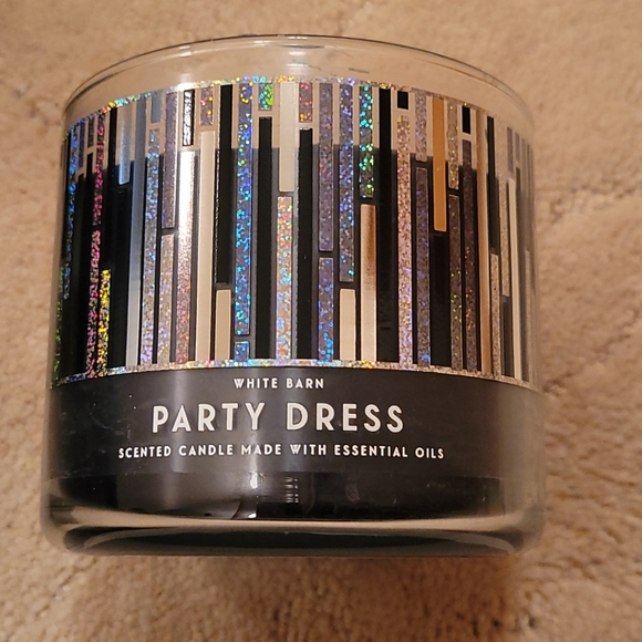 Not 3 wick party dress bath and body works candle